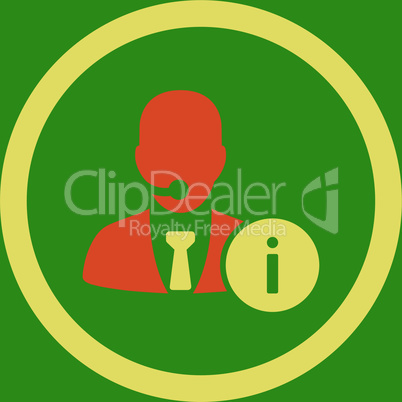 bg-Green Bicolor Orange-Yellow--help desk.eps