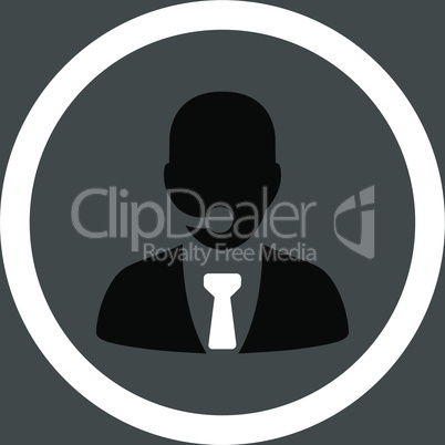 bg-Gray Bicolor Black-White--call center operator.eps