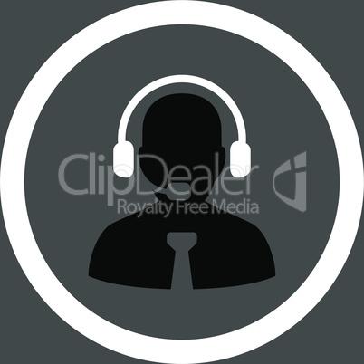 bg-Gray Bicolor Black-White--support chat.eps