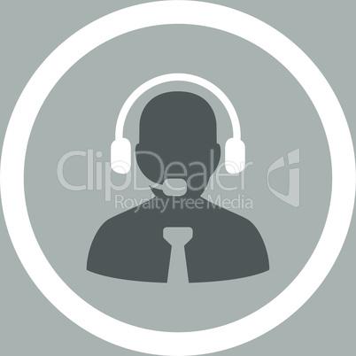 bg-Silver Bicolor Dark_Gray-White--support chat.eps