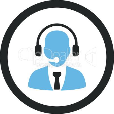 Bicolor Blue-Gray--call center.eps