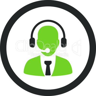 Bicolor Eco_Green-Gray--call center.eps