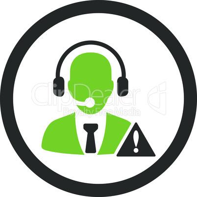 Bicolor Eco_Green-Gray--emergency service.eps