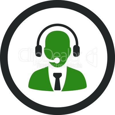 Bicolor Green-Gray--call center.eps