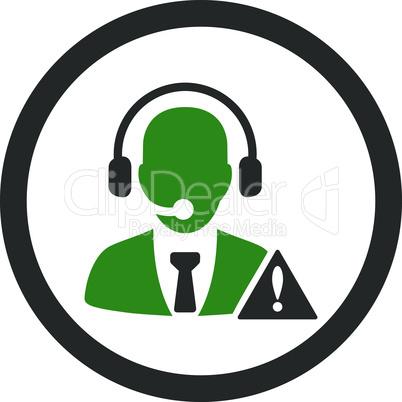 Bicolor Green-Gray--emergency service.eps