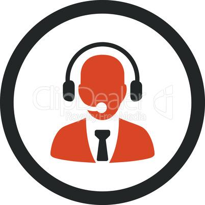 Bicolor Orange-Gray--call center.eps