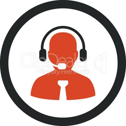 Bicolor Orange-Gray--support chat.eps