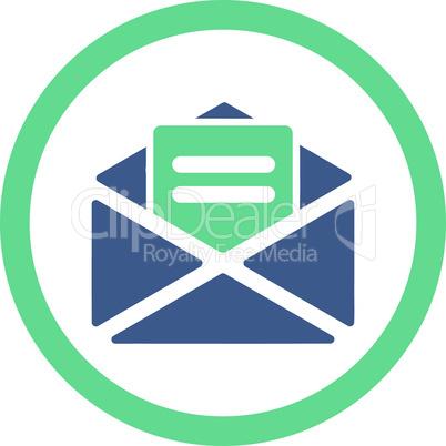 BiColor Cobalt-Cyan--open mail.eps