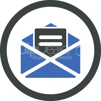 BiColor Cobalt-Gray--open mail.eps