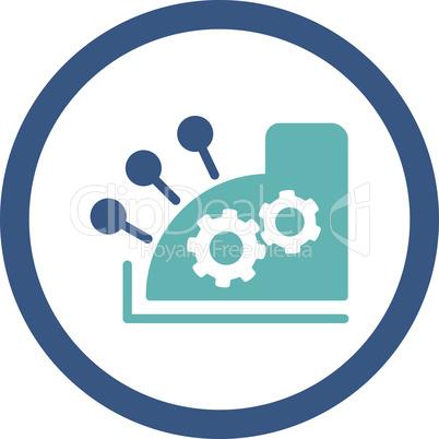 BiColor Cyan-Blue--cash register.eps
