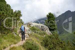 Wandern an der Franz-Senn-Hütte