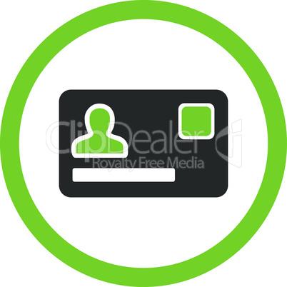 Bicolor Eco_Green-Gray--banking card.eps