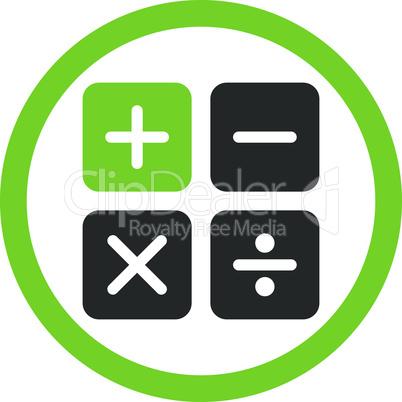 Bicolor Eco_Green-Gray--calculator.eps