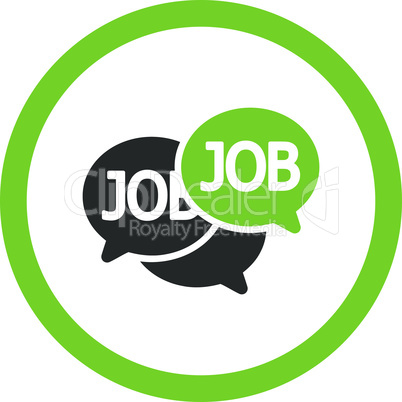Bicolor Eco_Green-Gray--labor market.eps