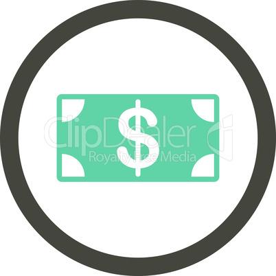 Bicolor Grey-Cyan--banknote.eps