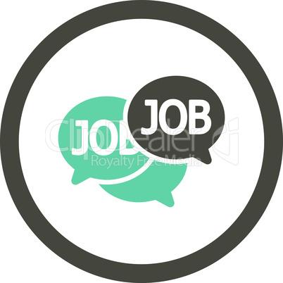 Bicolor Grey-Cyan--labor market.eps