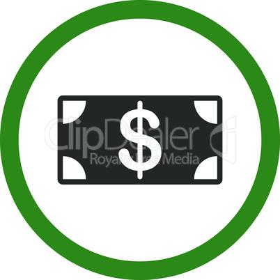 Bicolor Green-Gray--banknote.eps