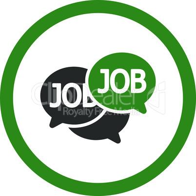 Bicolor Green-Gray--labor market.eps