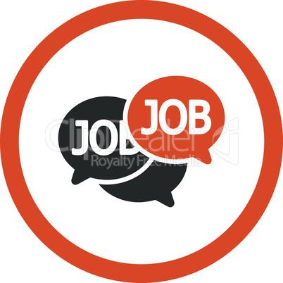 Bicolor Orange-Gray--labor market.eps