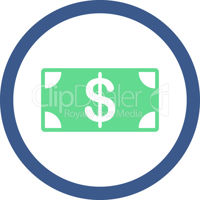 BiColor Cobalt-Cyan--banknote.eps