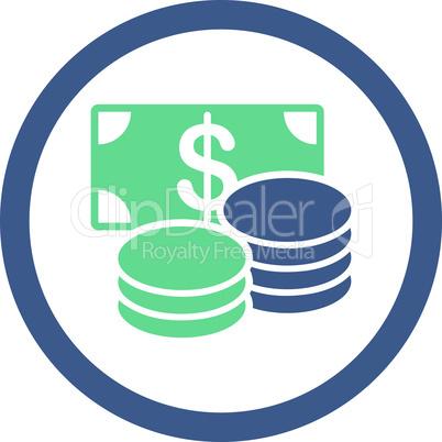 BiColor Cobalt-Cyan--cash.eps