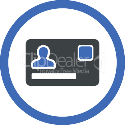 BiColor Cobalt-Gray--banking card.eps