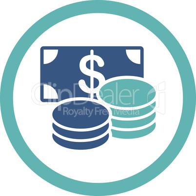 BiColor Cyan-Blue--cash.eps