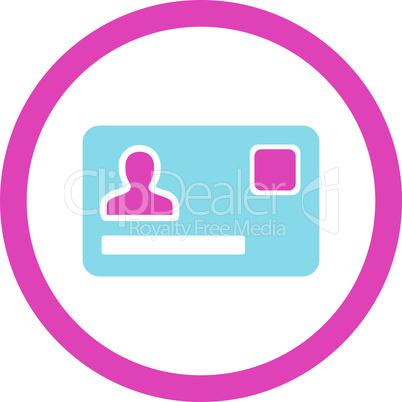 BiColor Pink-Blue--banking card.eps