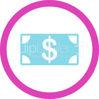 BiColor Pink-Blue--banknote.eps