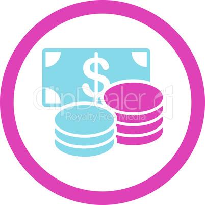 BiColor Pink-Blue--cash.eps