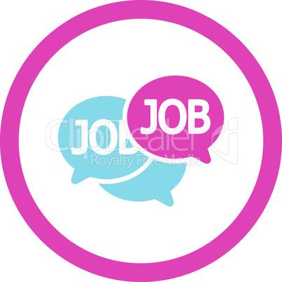 BiColor Pink-Blue--labor market.eps