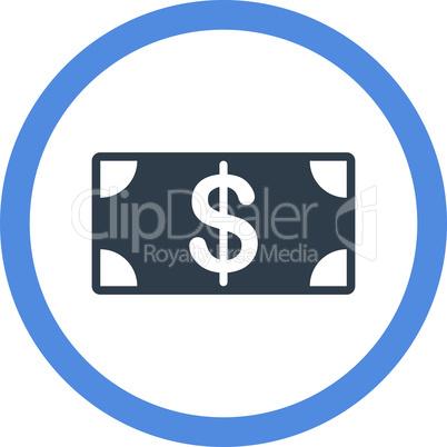 BiColor Smooth Blue--banknote.eps