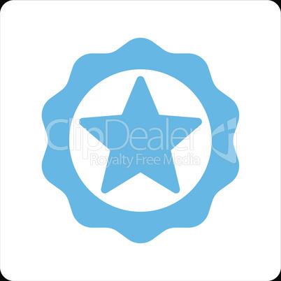 bg-Black Bicolor Blue-White--award seal.eps