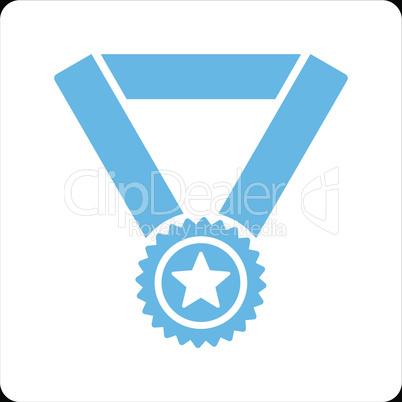bg-Black Bicolor Blue-White--winner medal.eps