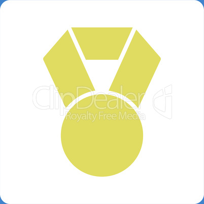 bg-Blue Bicolor Yellow-White--achievement.eps
