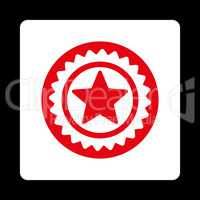 Medal seal icon from Award Buttons OverColor Set
