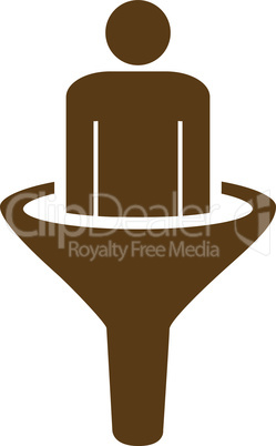 sales funnel--Brown.eps