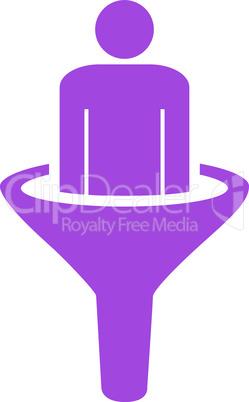 sales funnel--Violet.eps