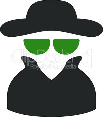 spy--Bicolor Green-Gray.eps