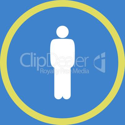 bg-Blue Bicolor Yellow-White--standing.eps