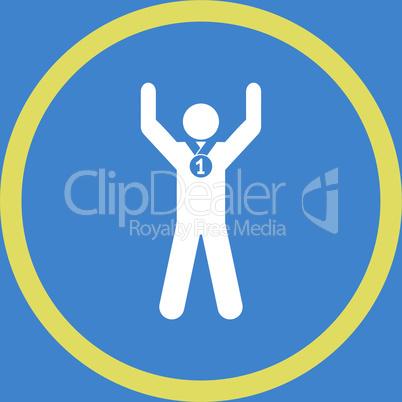 bg-Blue Bicolor Yellow-White--winner.eps