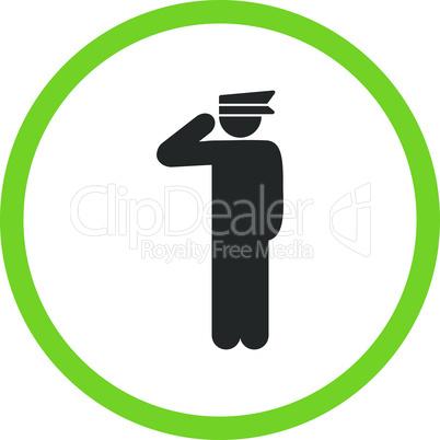 Bicolor Eco_Green-Gray--police officer.eps