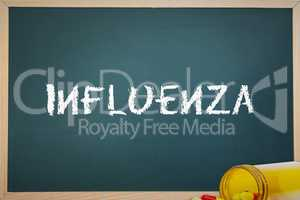 Influenza against spilled pills