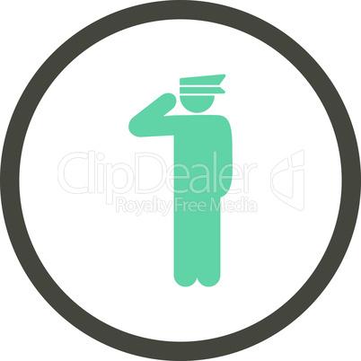 Bicolor Grey-Cyan--police officer.eps