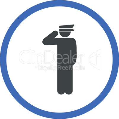 BiColor Cobalt-Gray--police officer.eps