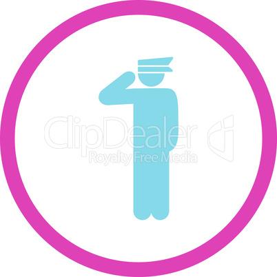 BiColor Pink-Blue--police officer.eps