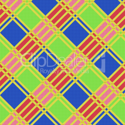 Diagonal seamless pattern in motley colors