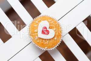 valentine's day muffin