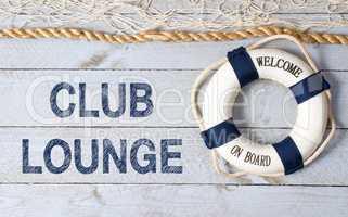 Club Lounge - Welcome on Board