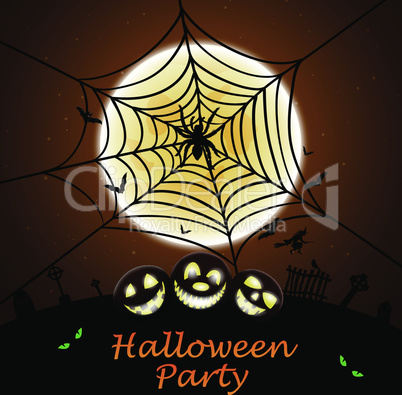 Halloween Greeting Card